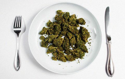 Weed and weight loss weed plate